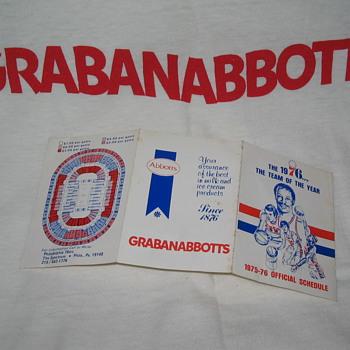 Abbotts Dairy , Abbott's Dairy , GRABANABBOTTS , Philadelphia sports , 76ers , Sixers