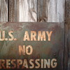 U S Army Sign