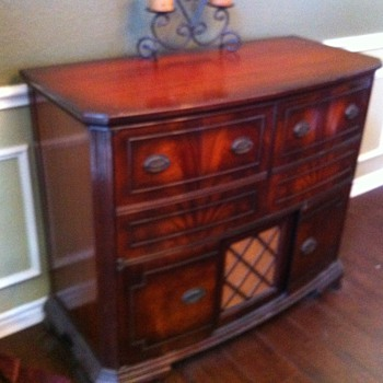 Westinghouse Entertainment Center with radio and phonograph