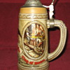 B series numbered rare Budweiser lidded stein