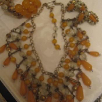 Hobe Parure - Costume Jewelry