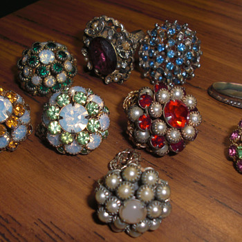 Old cocktail Rings? - Costume Jewelry