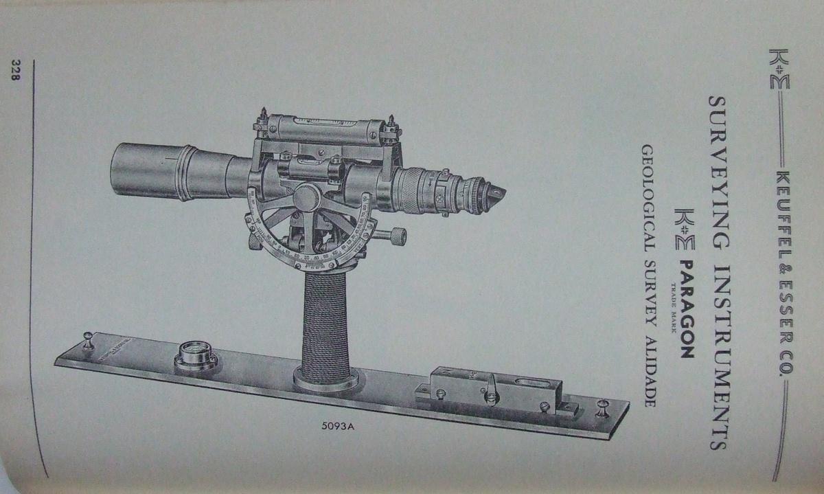 1955 Keuffel and Esser Slide Rule Manual #4081