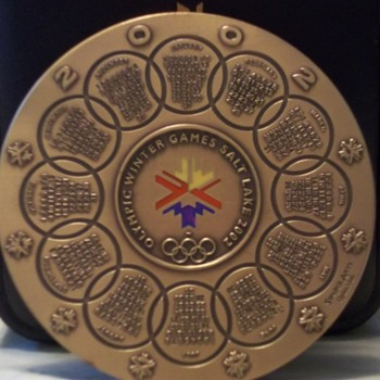 2002 Winter Olympics Salt Lake City Medallion
