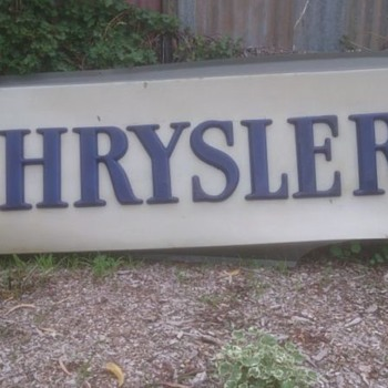 Chrysler Dealership Sign