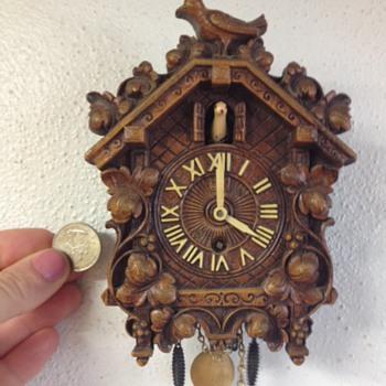Itty Bitty Cuckoo Clock