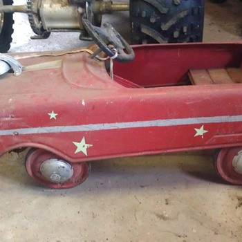 Memories of my classic pedal car