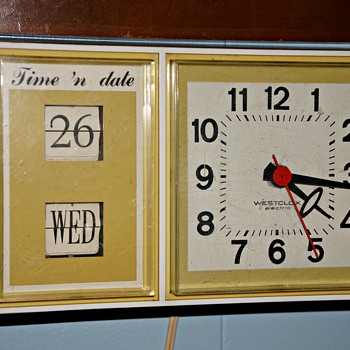 Westclox electric Time &#039;n Date Kitchen Clock - Clocks