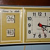 Westclox electric Time 'n Date Kitchen Clock