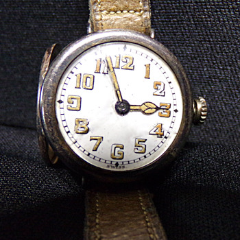 C. 1917 .935 Silver Trench Watch - Wristwatches
