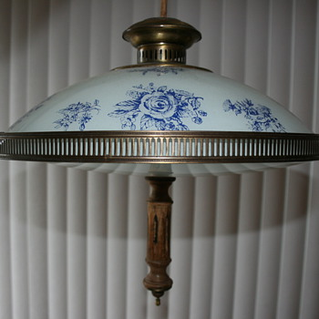 Antique hanging fixtures - Lamps