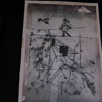 this is thigtrope walker Paul Klee - Visual Art