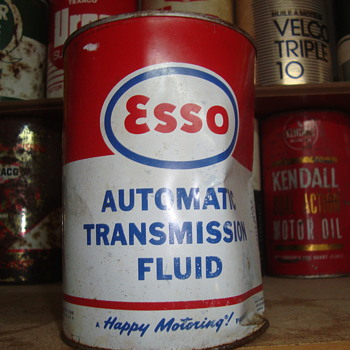 esso transmissin   can  - Petroliana