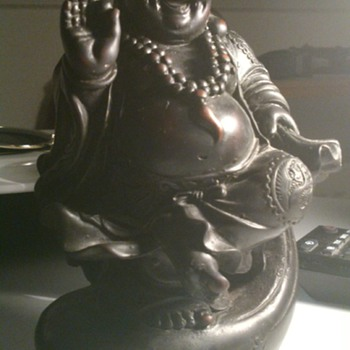 Black buddha figurine! - Asian