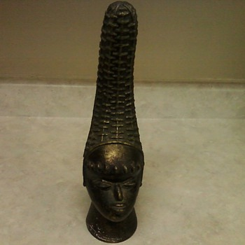 BENIN QUEEN MOTHER HEAD