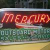 Mercury outboard neon