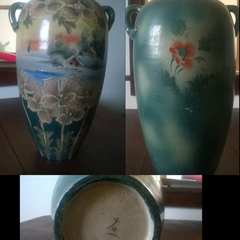 Old Chinese (maybe) vases  - Asian