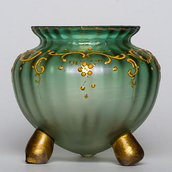 Loetz Blattgrün Verlaufend  - Art Glass