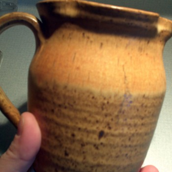 Clay pottery with a metal like finish? - Art Pottery