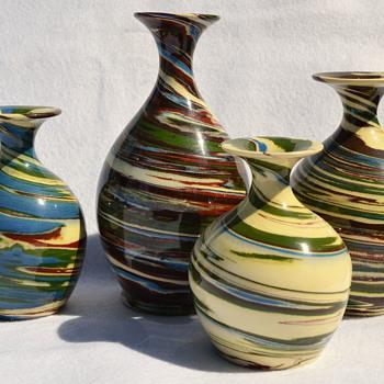 Desert Sands Pottery bud vases - Pottery