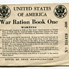 WWII USA Ration Booklets…...