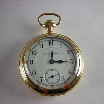 Hamilton 936 1st Year Production - Pocket Watches