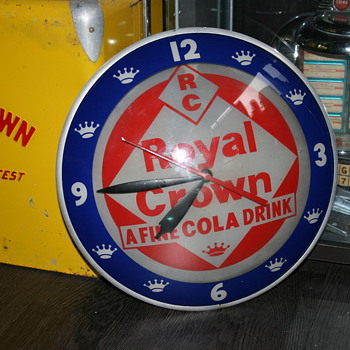 Royal crown cola clock - Clocks