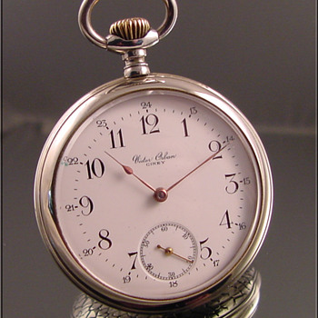 Omega Private Label Pocket Watch Victor Orban, Ciney