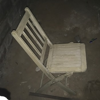Wood Folding Chair Date - Furniture
