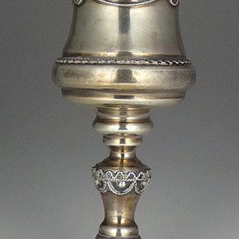 Restoration of Israeli Sterling Kiddush Cup - Sterling Silver