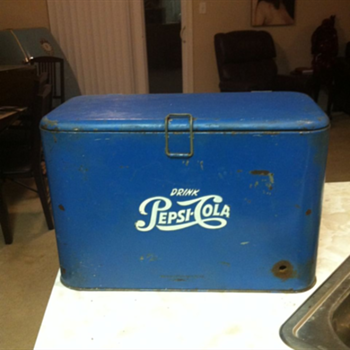Pepsi A2 Cooler - Advertising
