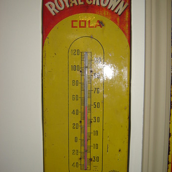 Royal Crown Thermometer - Advertising