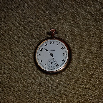 Cool gold filled Hampden pocket watch - Pocket Watches