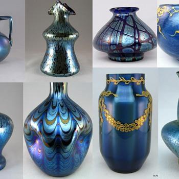 More Blue Loetz, Anyone? - Art Glass