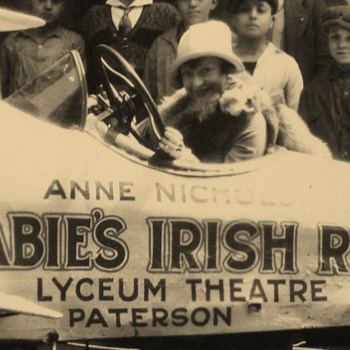 "Anne Nichols ""Abie's Irish Rose"" Alexander Hamilton Hotel Patterson NJ 1920s - Photographs"