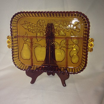 Indiana Glass Relish Tray #1202