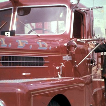 Old Fire Trucks - Firefighting