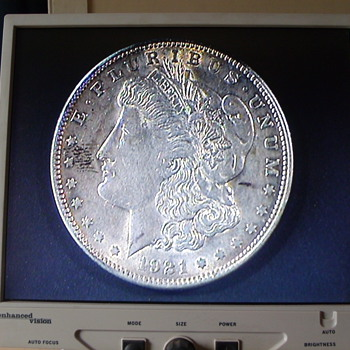 1921 Morgan silver dollar - US Coins