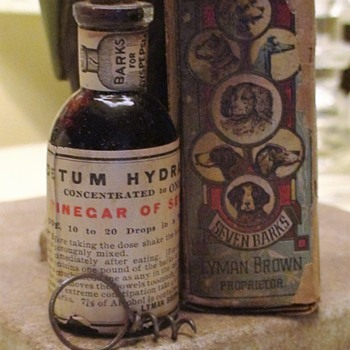 Seven Barks Quack Medication Lyman Brown Proprietor, New York, NY - Advertising