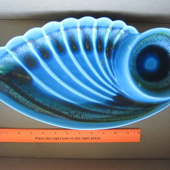 The Eye In The Shell - Art Pottery