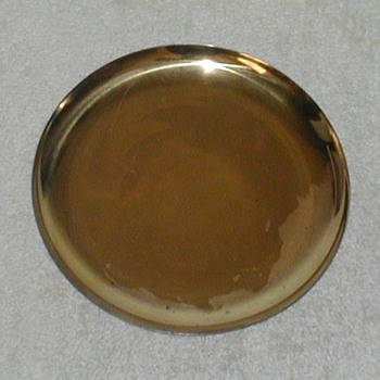 Brass-plated Copper Plate - Kitchen