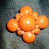 Coral brooch/pendant