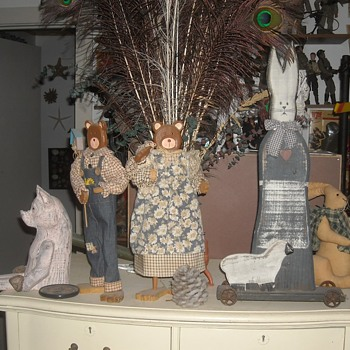 Folk Art in the Folk Art Room - Folk Art