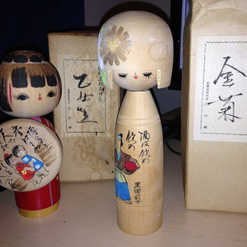 WorldWarII Kokeshi Dolls  - Dolls