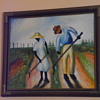 Vintage African American Painting,Signed