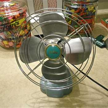 Zero Refridgerator Fan, Easily Restored!