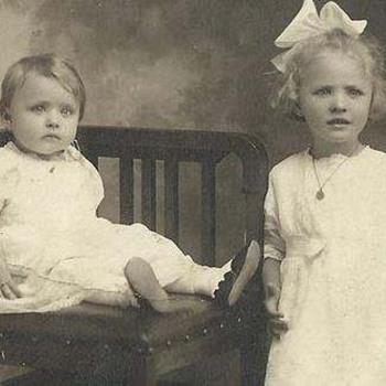 grandma F. and aunt max - Photographs