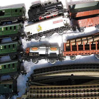 Found Dad's favorite trains - Model Trains