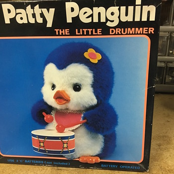 Patty Penguin battery operated