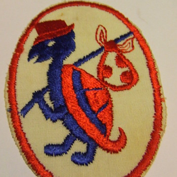 Vintage Embroidered Clothes Patch